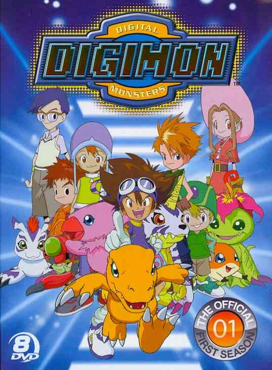 OFFICIAL DIGIMON ADVENTURE SET:COMPLE BY DIGIMON (DVD)